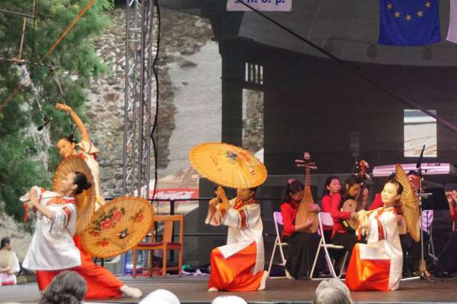 A Taiwanese group will appear at the Folklore Days